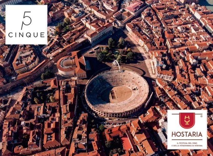 Hostaria Verona: vivi la sua magia con Cinque