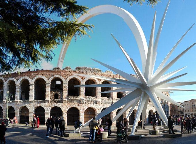 Stella dell'Arena di Verona: storia e curiosità sul simbolo del Natale veronese